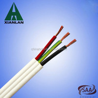 AS/NZS 5000.2 Flat TPS Cable 2C+E 2.5mm2