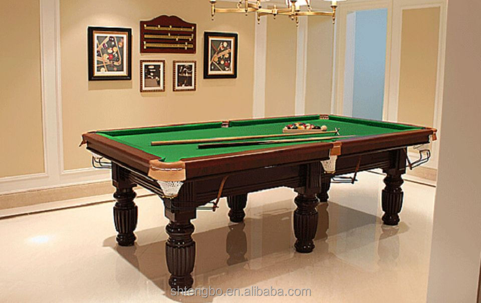 Economic 8ft mdf billiard table classic type 5 ft pool for 10 foot snooker table for sale