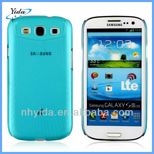 OEM Plastic Case For Samsung Galaxy I9300 S3 Hard Matte Phone Case Cover
