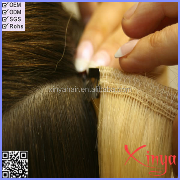 Without chemical process 6A clip in Malaysian straight hair extension