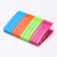 cheap plastic clothes pegs; laundry clips