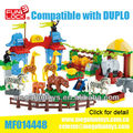 FUNLOCK Duplo Zoo Plastic Building Block Toy Manufacture Kids Gift Wholesale