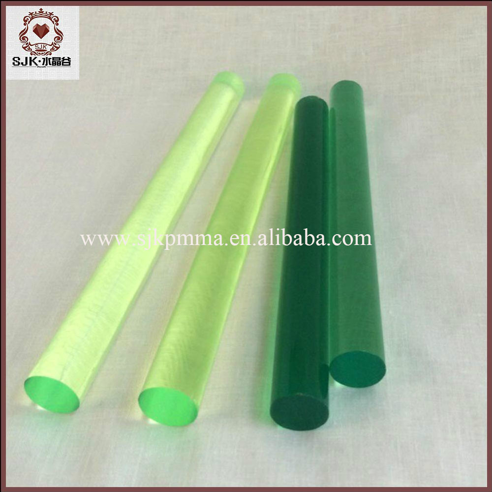 20mm Diameter Colorful Round Lucite Acrylic Rod