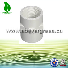 bsp to npt thread adapters socket to thread plastic pvc pipe fittings