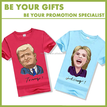 Election Campaign T-Shirts Cotton Materials With Printing