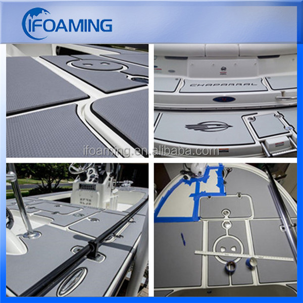 Hot Sale Light Grey 6mm EVA Marine Flooring EVA Foam Decking Material for Boats