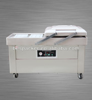 DZ-400/2SB frozen roasted chicken meat vacuum packaging machine
