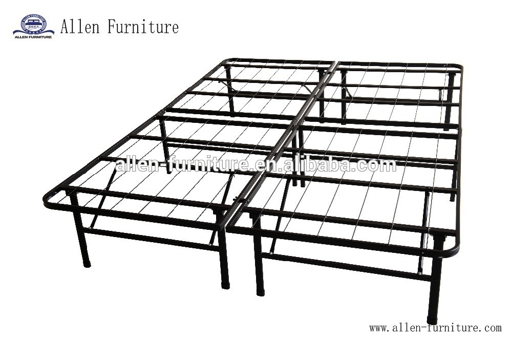 Sleep Master Platform Metal Bed Frame Mattress Foundation Twin