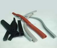 silicone rubber foam and solid seal strip for building industry
