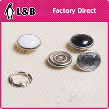 hot sale wholesale cap prong ring snap button