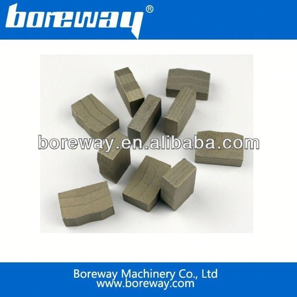 Boreway Sell diamond saw segments for granite blade
