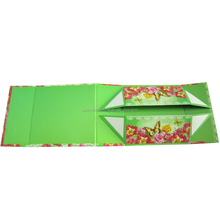 eco-friendly colorful paper folding gift box wholesale