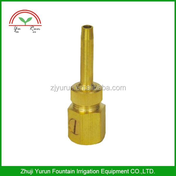 Jet Straight Fountain Nozzle Adjustable Valve Pond Spray Head