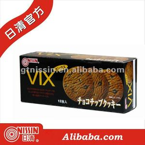 Nissin VIX Chocolate Chips Cookies / biscuit
