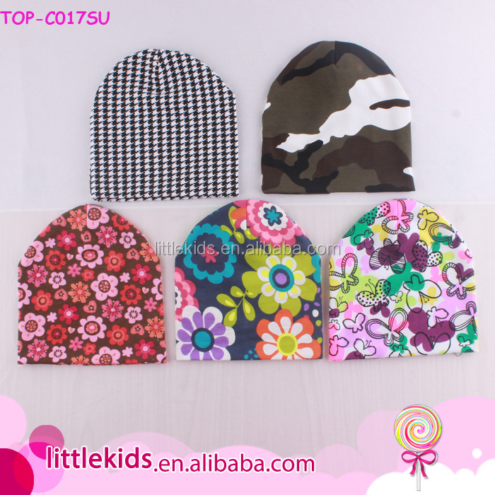 Unisex Newborn Baby Soft Knitted Cotton Hats Cute Infant Caps Toddler Beanie Wholesale Prints Baby Beanies
