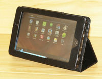 High Quality Leather Case Flip Stand Cover For Acer Iconia Tab A100 A101 Black