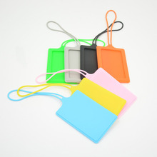 Custom Hot Sale Plastic Cute Hand Wash Silicone Pocket Business Card Holder