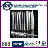 Factory wholesale hard plastic drinking straw with PVC wrapped