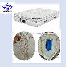 hot selling high density cheap wholesale king queen pocket spring bed mattress for home furniture