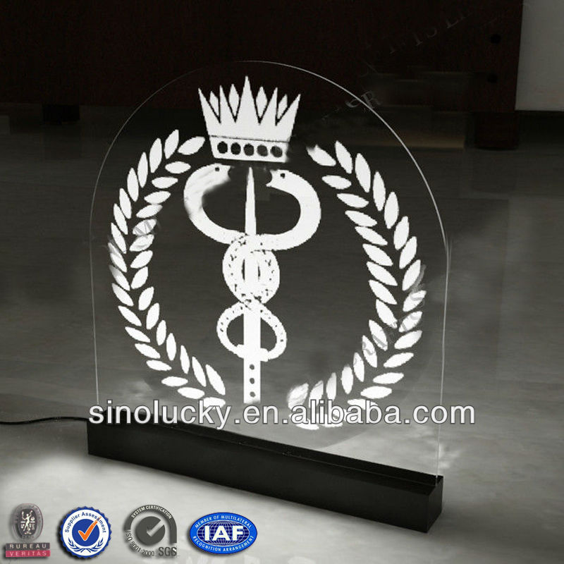 LED signs display /Acrylic animation sign For Advertisement/LED acrylic signs display