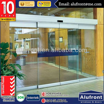 Aluminium Automatic Sensor Door for Commercial