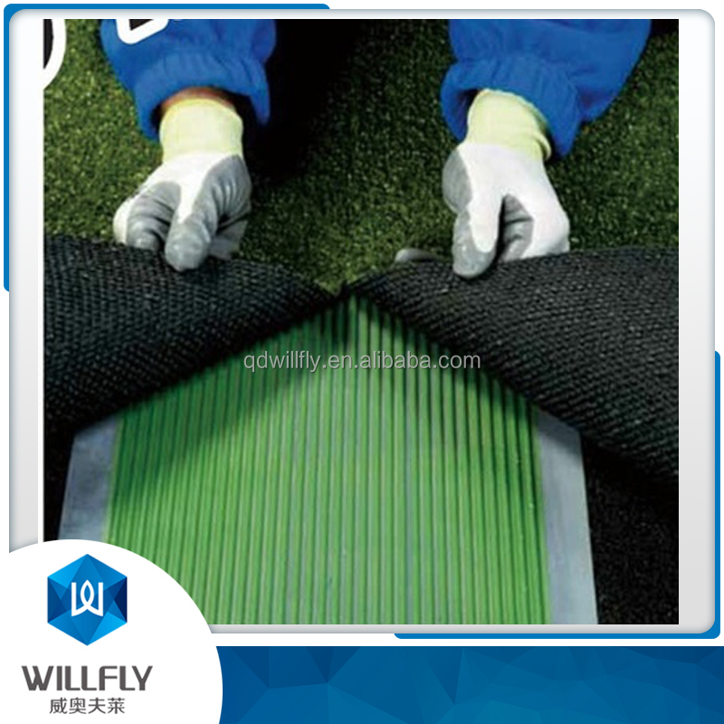 Polyurethane adhesive for artificial turf installation