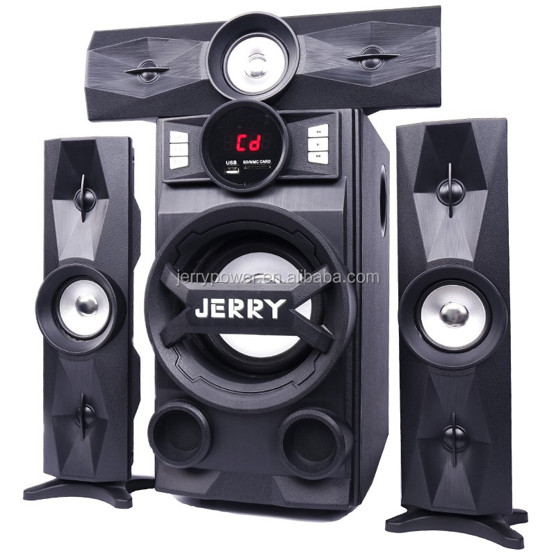 5.1 a 7.1 full home theater sistema de som surround com subwoofer e receptor
