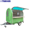I TRAILER smokeless bbq food van for Australia standard