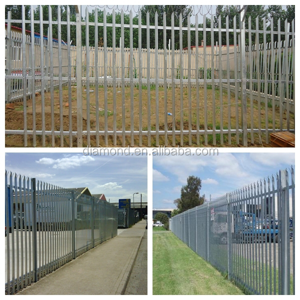 decorative outdoor yard steel security fence palisade fencing view palisade fencing diamond. Black Bedroom Furniture Sets. Home Design Ideas