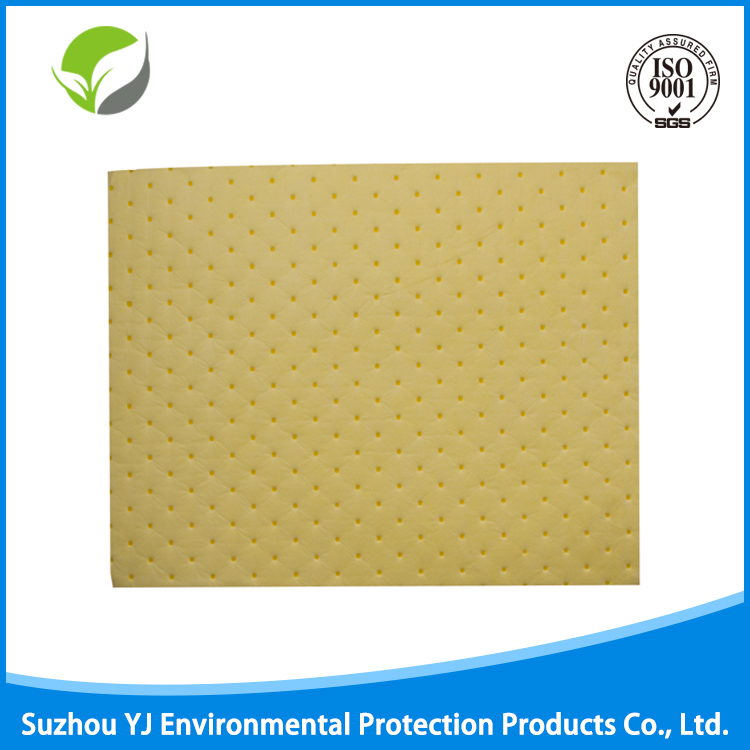100% Melt Blown Polypropylene Yellow Spill Kit/Oil Absorbent Pads/Chemical Hazardous Liquid Spill Sheet