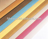 Colorful new imitation leather for book cover,shoes,bag, furniture etc