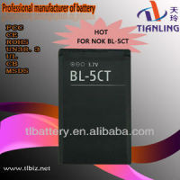 Bl-5ct Battery For Nokia 6730c C6-01 C5 C5-00 C3-01 6303c 5220 Black