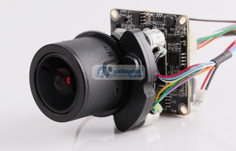 H.264 2MP Waterproof Network IP Camera With PoE Port 4X Zoom Auto iris Motorized Lens IR 40m