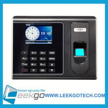 Factory Wholesale biometric fingerprint employee time attendance recording machine