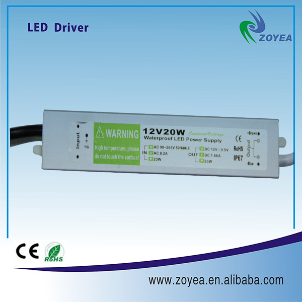 220v to 12v led driver circuit for 12v 20w