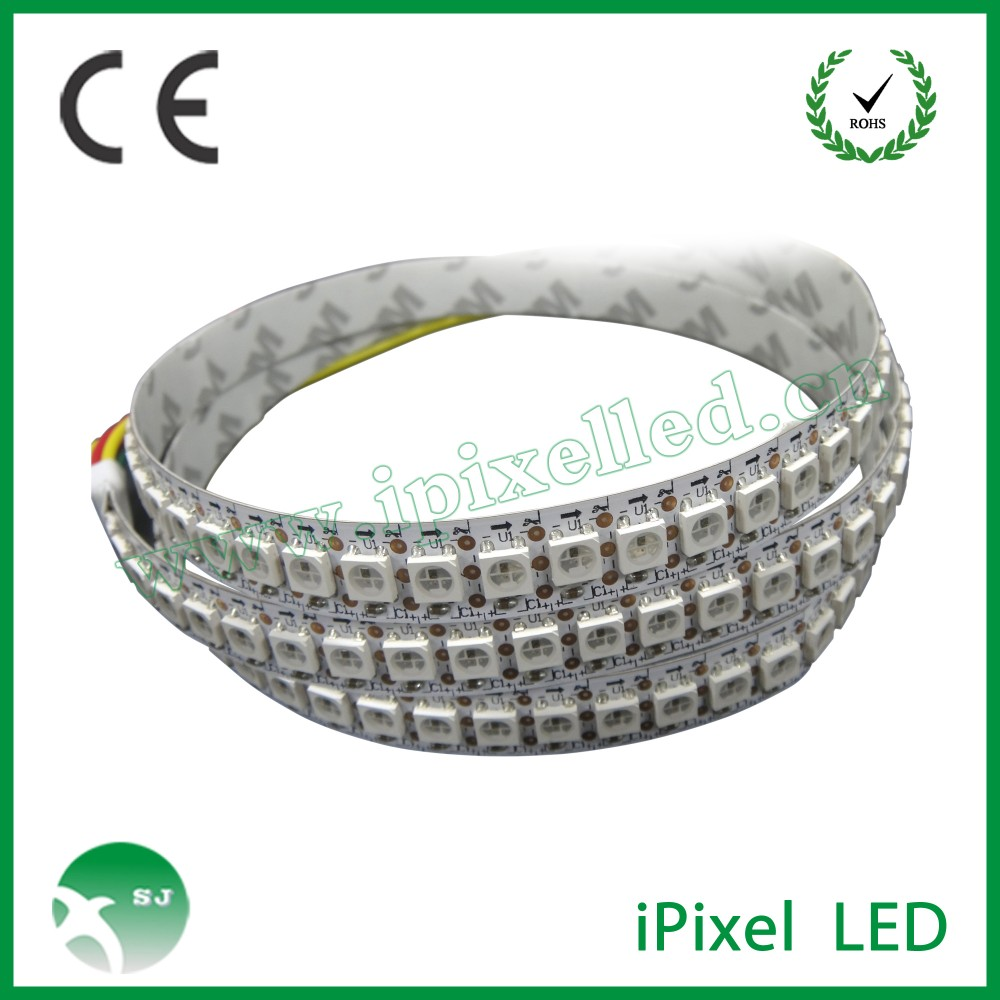 DC5V smart <strong>rgb</strong> ws2812b 60led 144led pixel led strip