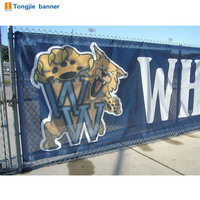 Outdoor fabric mesh banner,pvc mesh banner printing