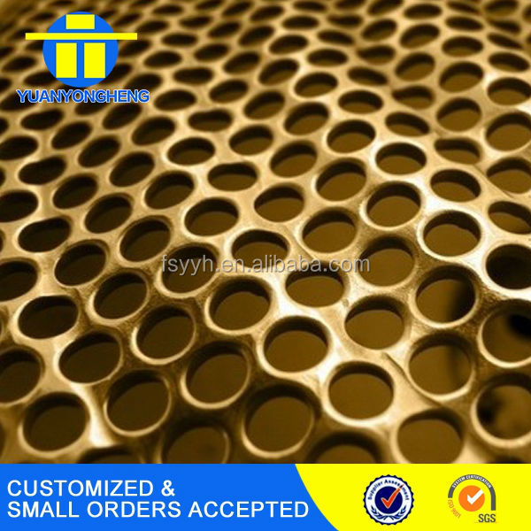 color coat 201 304 Punched hole stainless steel decorative plate