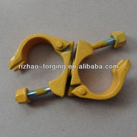 Australian type drop forged scaffolding joint swivel clamp