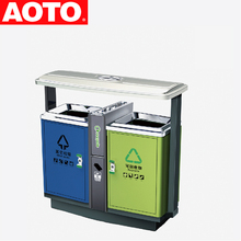 Recycling Bin Sorting Waste Garbage Container For Sale