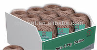 Jute twine with assorted color