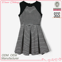 2015 Summer Apparel/Garment/Clothing Factory Direct Back Open With Zipper Sleeveless Different Designs Casual Dresses