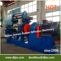 China used rubber mixing mill series XK-450 two roll open mixing mill offered by Dalian Rubber Machine