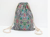 Best Selling Canvas Linen Drawstring Gift Bag For Wholesale