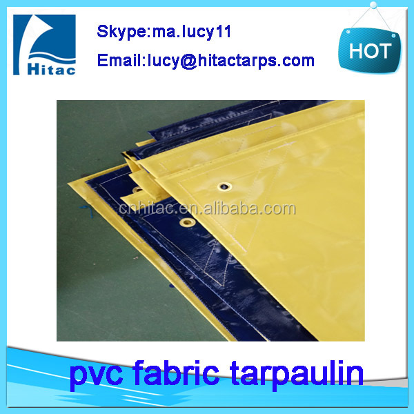 Outdoors fire retardant reinforced pvc vinyl fabric construction tarps tarpaulin