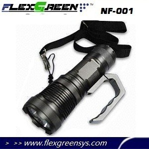 rechargeable 15w super bright police led flashlight