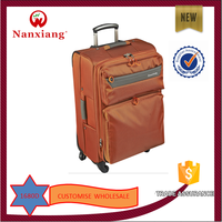 on sale soft colorful Nylon luggage