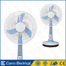 New model 13watts battery operated table fan table fan blade balancing machine