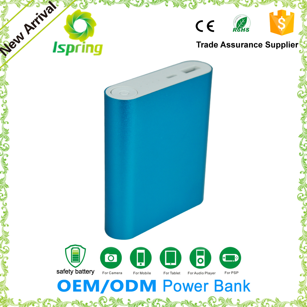 Xiaomi power bank cell phone emergency charger 10400mah