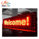 Shenzhen RGX Factory LED Outdoor Single Red Colour LED Display P10 Led Module